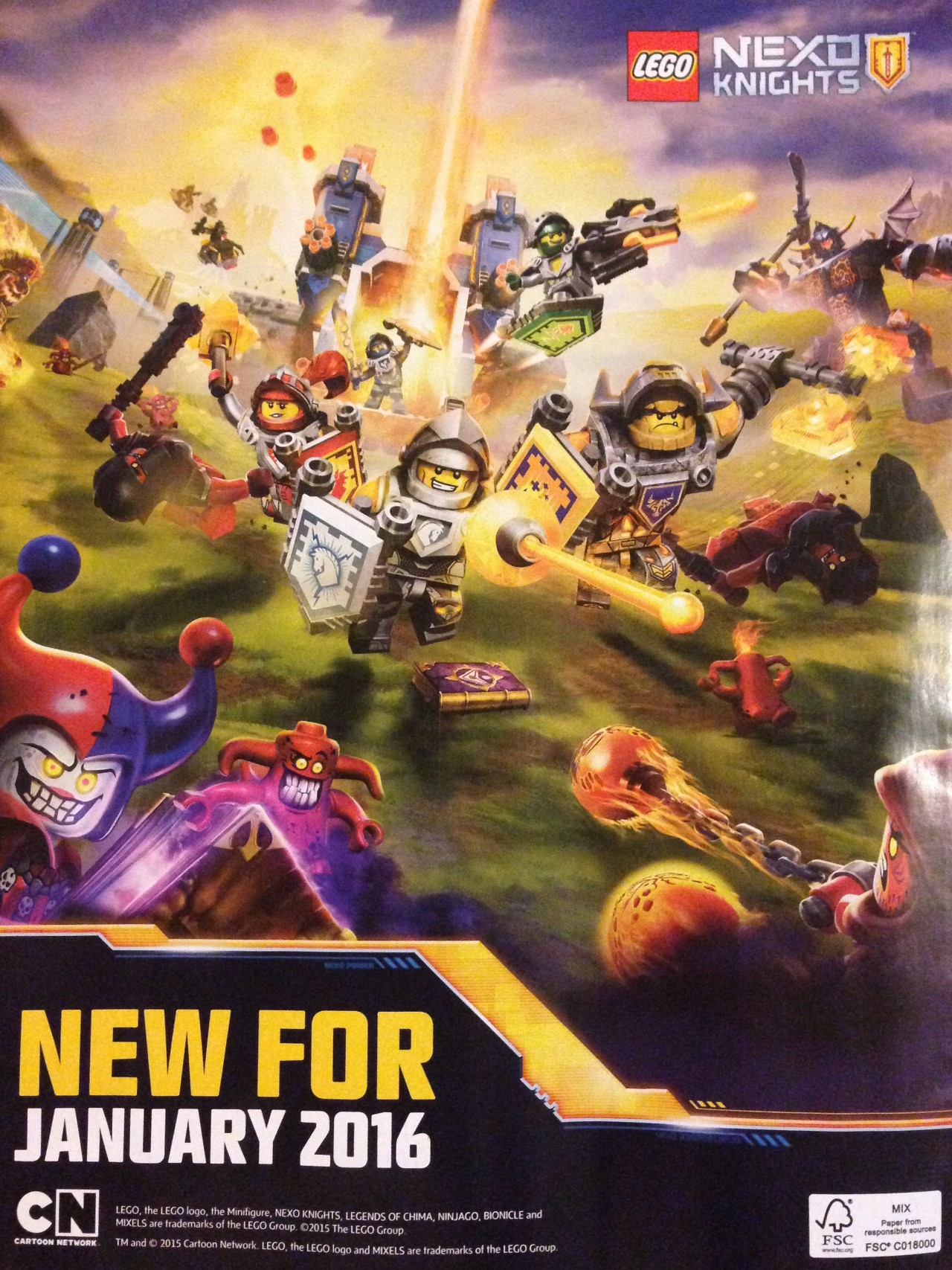 Lego nexo knights tv programm heute 2015 - 7f