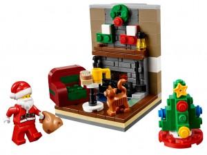 LEGO Seasonal 40125 Santa's Visit
