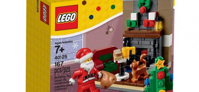 LEGO Seasonal 40125 Santa's Visit box