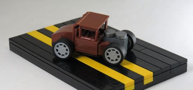 LEGO micro Hot Rod