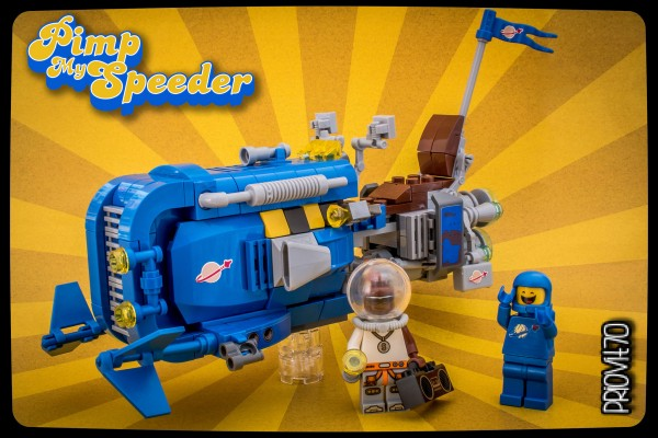 Pimp my speeder LEGO Star Wars Benny