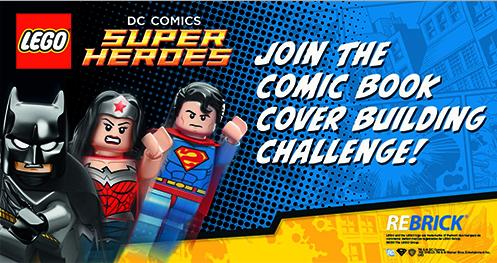 ReBrick Comic Book challenge
