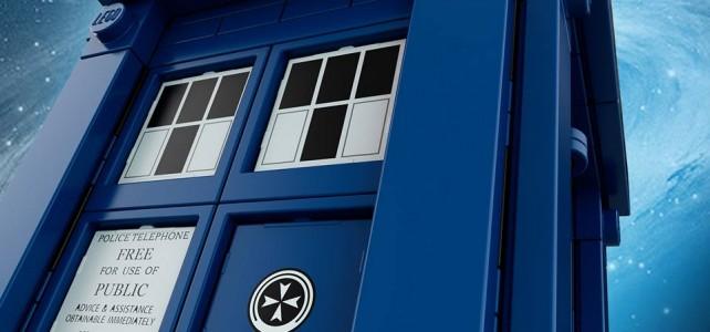 TARDIS teasing LEGO Ideas 21304 Doctor Who