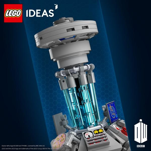 TARDIS teasing LEGO Ideas 21304 Doctor Who part 2