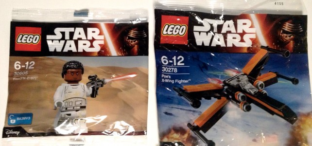 polybags Star Wars The Force Awakens