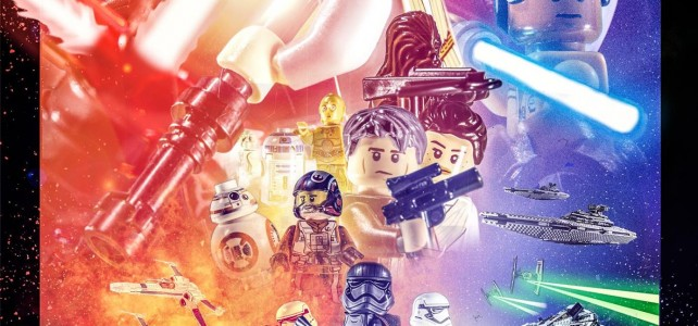 Affiche LEGO Star Wars The Force Awakens