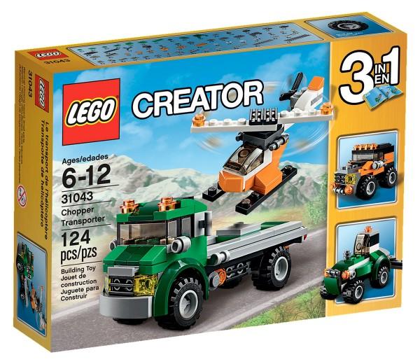 31043 LEGO Creator Chopper Transporter