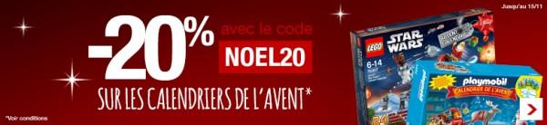 Bon plan Carrefour Online calendrier avent