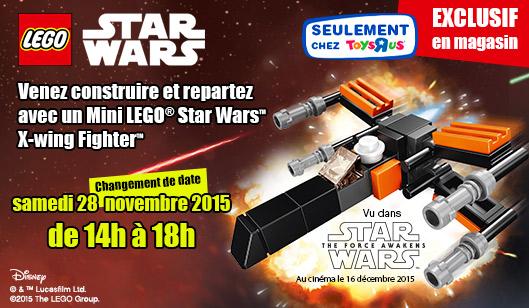Animation LEGO Star Wars Toys R Us