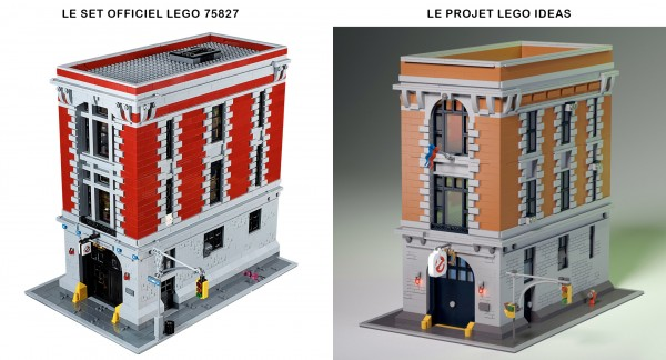 QG Ghostbusters LEGO Ideas VS 75827