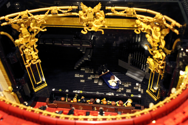 Her Majesty's Theatre, London - Grand Circle view