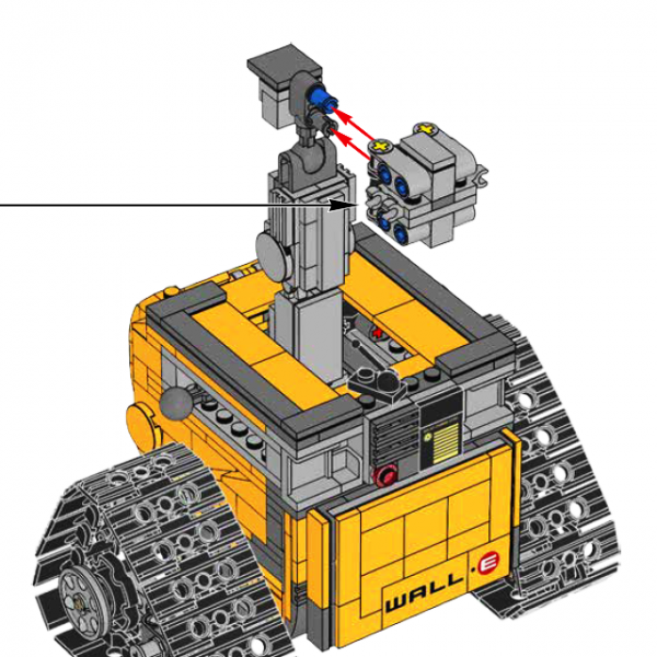 LEGO Ideas 21303 Wall-E correction