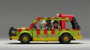 LEGO Ideas Ford Explorer Jurassic Park 2