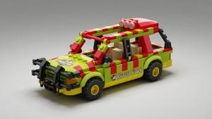 LEGO Ideas Ford Explorer Jurassic Park