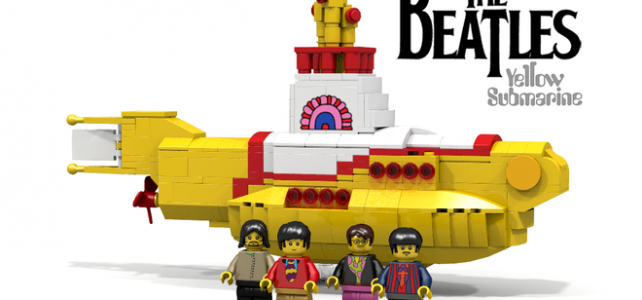 LEGO Ideas Yellow Submarine