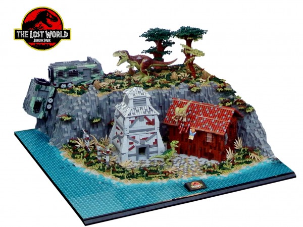 LEGO Jurassic Park 2 Le Monde Perdu