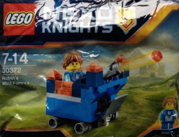 Polybag LEGO Nexo Knights Robin's Mini Fortrex 30372