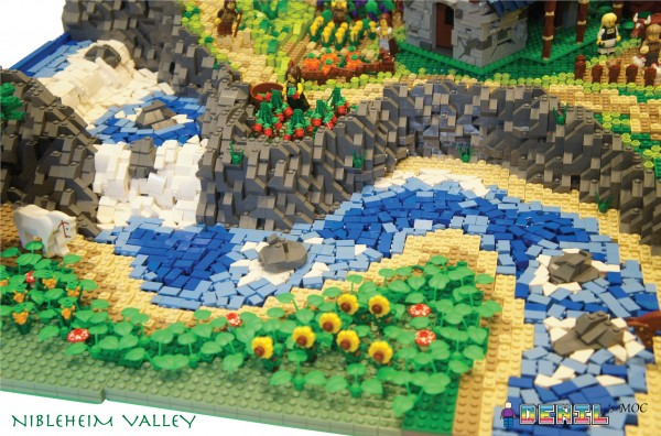 LEGO Nibleheim Valley Rivière zoom