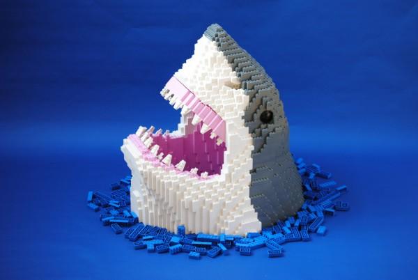 Requin LEGO Les dents de la mer