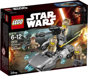 LEGO Star Wars 75131 Resistance Battle Pack box