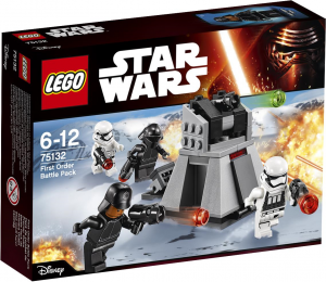 LEGO Star Wars 75132 First Order Battle Pack box