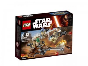 LEGO Star Wars 75133 Rebel Alliance Battle Pack box