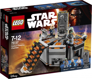 LEGO Star Wars 75137 Carbon-Freezing Chamber box LEGO Star Wars 2016