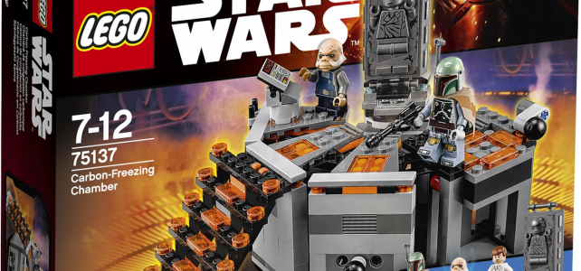 LEGO Star Wars 75137 Carbon-Freezing Chamber box