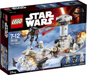 LEGO Star Wars 75138 Hoth Attack box