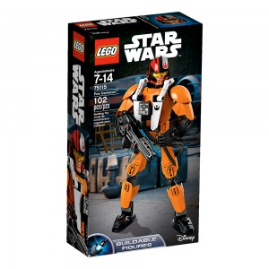 LEGO Star Wars Constraction Figures 75115 Poe Dameron box