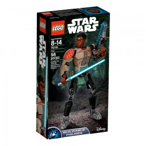 LEGO Star Wars Constraction Figures 75116 Finn box