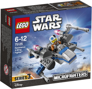 LEGO Star Wars Microfighters 75125 Resistance X-Wing Starfighter box