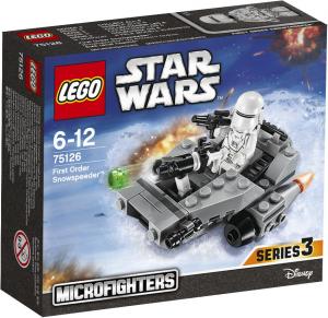 LEGO Star Wars Microfighters 75126 First Order Snowspeeder box
