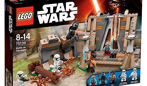 LEGO Star Wars TFA 75139 Battle on Takodana box
