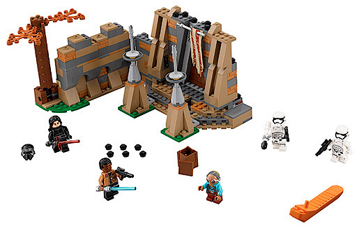 LEGO Star Wars TFA 75139 Battle on Takodana