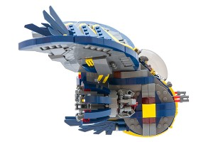 LEGO Starship Interceptor side