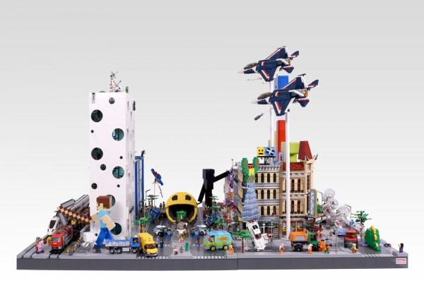 Lego Pixels City