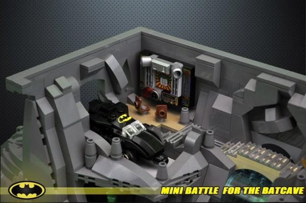 Micro Batcave Batmobile
