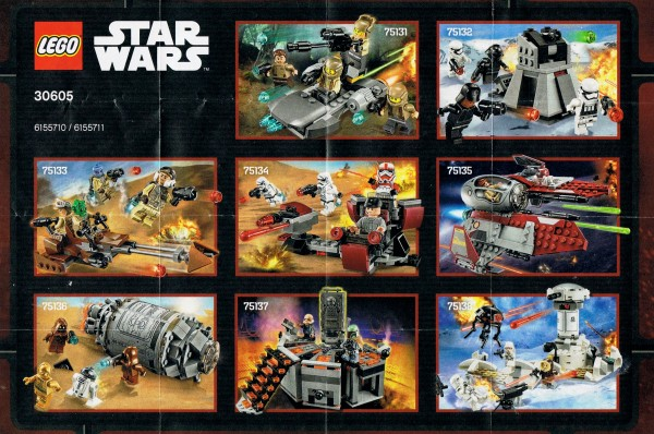 LEGO Star Wars 2016 H1 sets