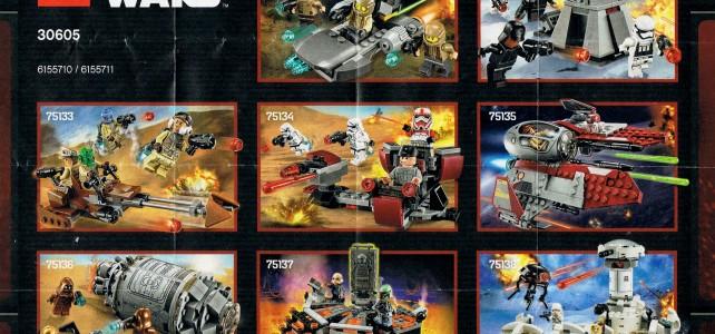 Star Wars 2016 H1 sets