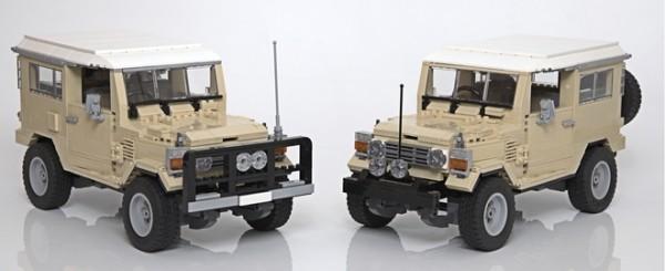 LEGO Ideas Toyota Landcruiser