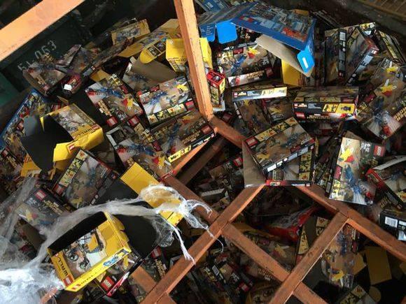 Mise au rebut LEGO