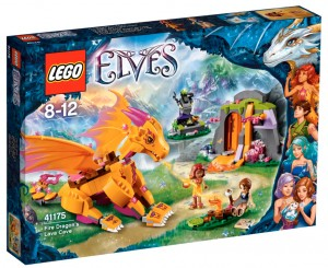 LEGO Elves 41175 Fire Dragon's Lava Cave