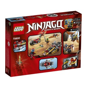 70600 Ninja Bike Chase back