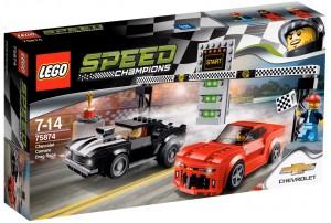 LEGO Speed Champions 2016 - 75874 Chevrolet Camaro Drag Race