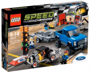 LEGO Speed Champions 2016 - 75875 Ford F-150 Raptor Ford Model A Hot Rod