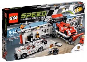 LEGO Speed Champions 2016 - 75876 Porsche 919 Hybrid and 917K Pit-Lane