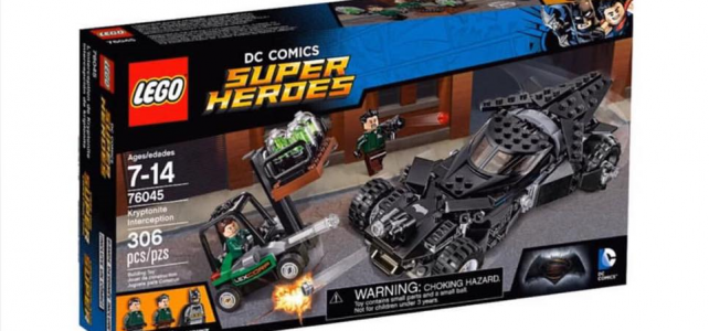 LEGO 76045 Kryptonite Interception box