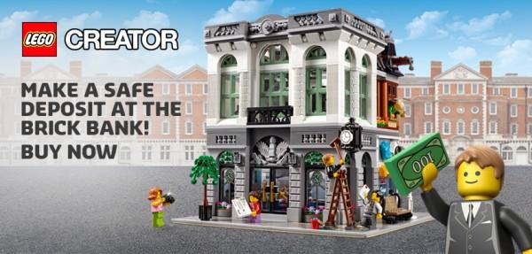 LEGO 10251 La banque de briques