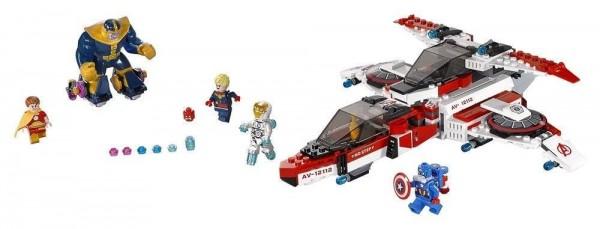 LEGO Marvel Super Heroes Avenjet Space Mission (76049)